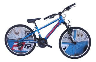 Bicicleta Mtb Rodado 24 21 Vels Fire Bird // Richard Bikes