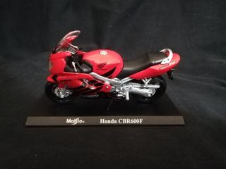 Miniatura Motocicleta Maisto Honda Cbr600f 1:18