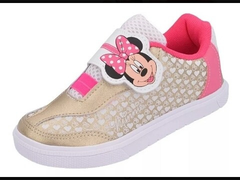 Tênis Infantil Minnie Mouse Super Barato