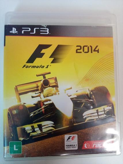Formula 1 2014 Ps3 Original Em Dvd