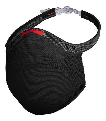 Imagem 1 de 8 de Máscara De Proteção Fiber Knit 3d Infantil Com 1 Refil Tam P