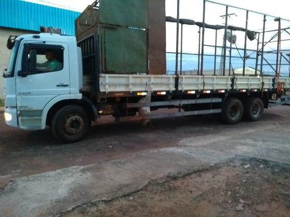 Caminhão No Chassis Mb Atego 2425 2010/2011 105 Mil