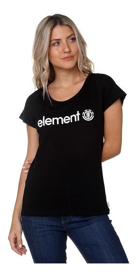 Remera Element Logo Tee Jeremele20 Mujer Jeremele20
