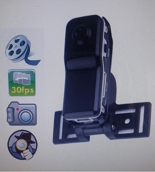 Mini Câmera Filmadora Espiã Mini Dv + Cartão 8gb