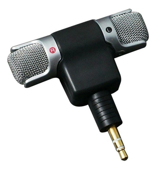 Mini Microfone Lt-ds70p Para Notebook Pc Stereo