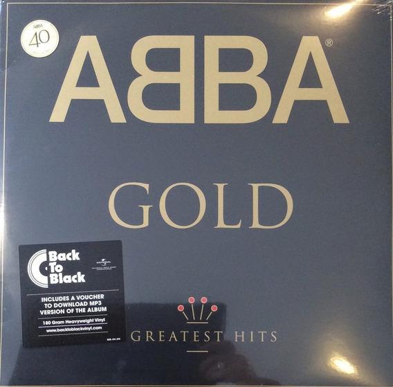 Abba Gold Vinilo Doble Nuevo Original Importado 40th Anniver
