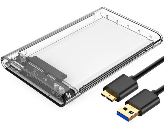 Case Sata Hd Notebook Usb 3.0 Externa Ps4 Xbox Ssd Capa T31
