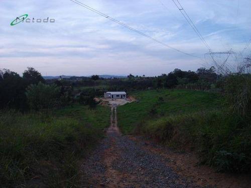 Chácara Com 3 Dormitórios À Venda, 5200 M² Por R$ 320.000,00 - Parque Agrinco - Guararema/sp - Ch0009