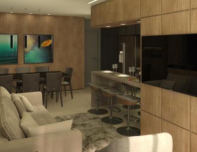 Apartamento Em Cabral, Curitiba/pr De 85m² 3 Quartos À Venda Por R$ 723.849,00 - Ap254639