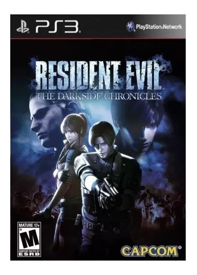 Resident Evil The Darkside Chronicles Ps3 Psn Jogo Comprar