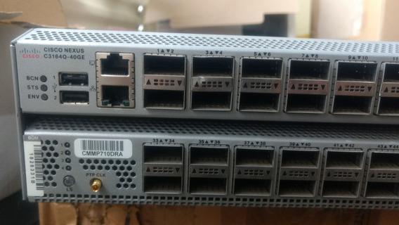 Cisco Nexus C3164q-40ge Data Center Sem Fonte E Fans