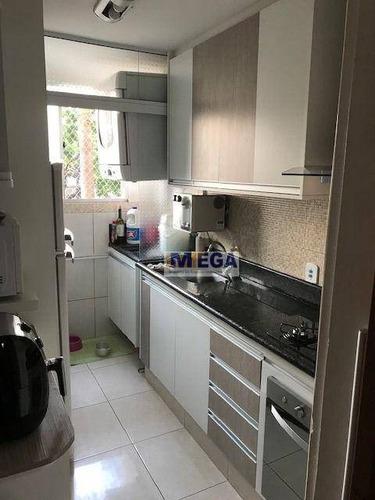 Imagem 1 de 16 de Apartamento À Venda, 60 M² Por R$ 290.000,00 - Vila Satúrnia - Campinas/sp - Ap5076