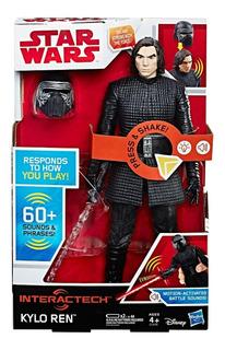 Muñeco Interactivo Star Wars Kylo Ren 60 Frases Hasbro C1435