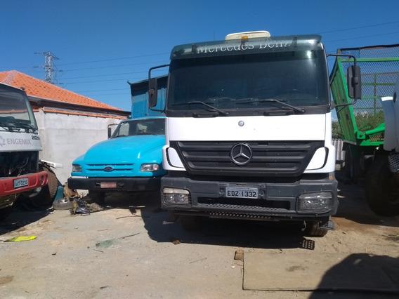 Mercedes-benz Ano 09 Valor 120mil Chassi Longo Mec Operacio