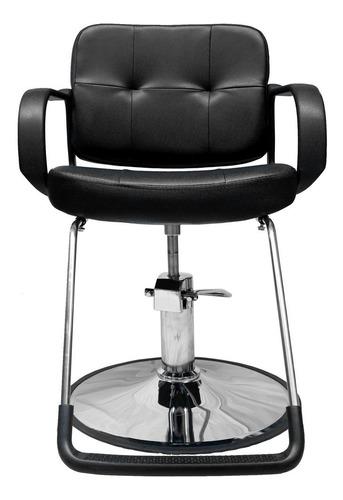 Imagen 1 de 9 de Silla  Sillon Barbero Estetica Hidraulico Salon Belleza