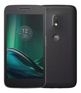 Motorola Moto G4 Play 16gb Dual Tv Xt1603 Novo- Vitrine
