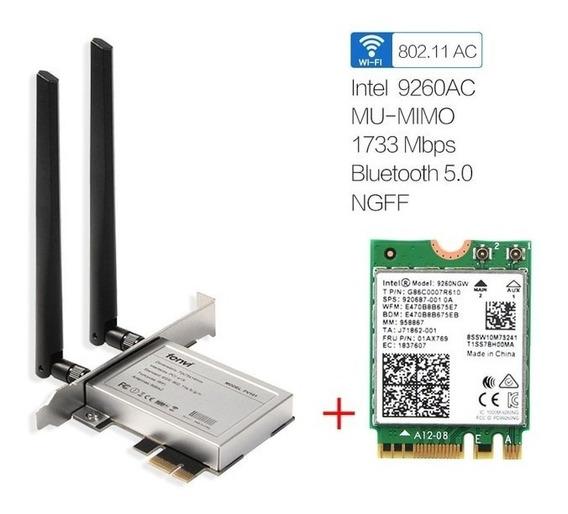 Desktop Intel 9260ac Dual Band Sem Fio 1730 Mbps Mu-mimo 10