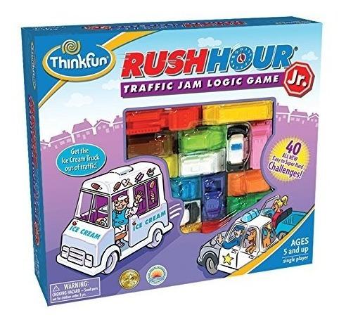Juego De Lógica Thinkfun Rush Hour Junior Traffic Jam