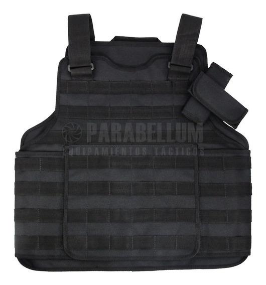 Chaleco Táctico Molle Policía *funda Porta Placa*