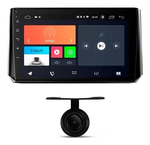 Central Multimídia Onix Plus 2020 Android + Câmera De Ré