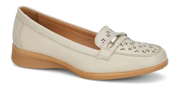 Zapato Comodo Doble Ancho Dama Corte Piel Encanto 2658704