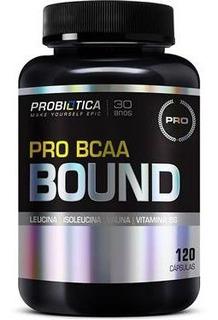 Pro Bcaa Bound 120caps Probiótica