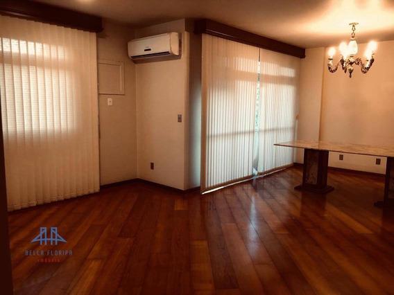 Apartamento Com 4 Dormitórios À Venda, 337 M² Por R$ 960.000 - Centro - Florianópolis/sc - Ap2734