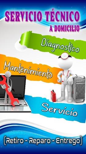 Imagen 1 de 2 de Servicio Técnico - Computadoras De Escritorio Y Laptops