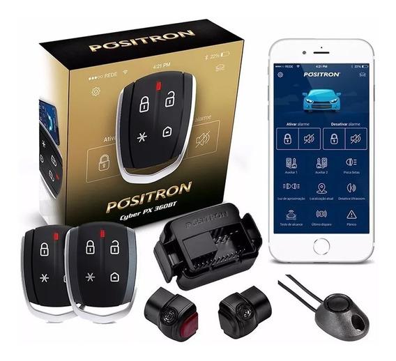 Alarme De Carro Automotivo Positron Cyber Px360bt Universal