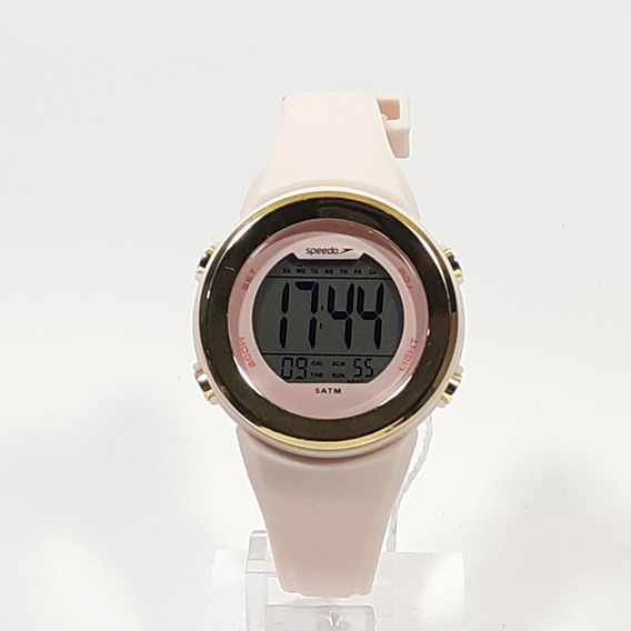 Relógio Esportivo Feminino Speedo 81152l0evnp3 Rosa Claro