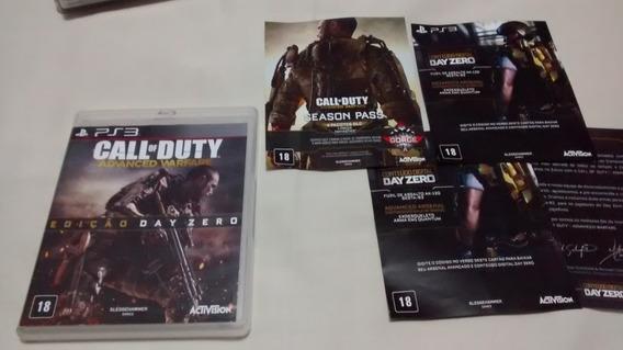Call Of Duty Advanced Warfare Ps3 Midia Fisica Original