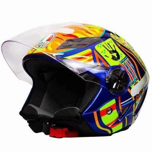 Capacete Aberto Agvblade Five Continents Valentino Rossi 46