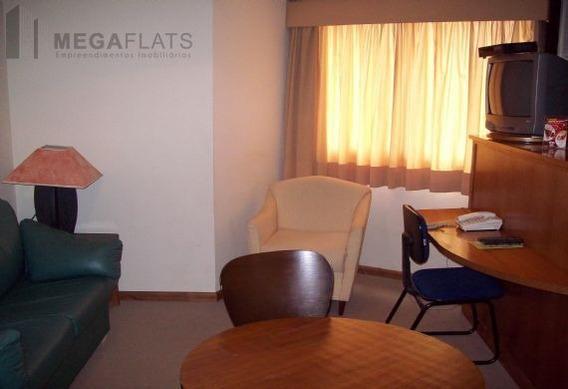 03087 - Flat 1 Dorm, Brooklin Novo - São Paulo/sp - 3087