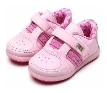 Tenis Menina Infantil Feminino Colors Rosa Kidy 0008