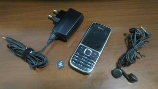 Nokia C2-01 Preto, Câmera 3.2mp, 3g Não Inclui Cartão Mem.