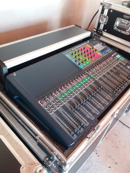 Mesa De Som Soundcraft 32 Canais Si Expression 3/ + Case