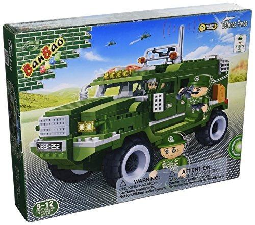 Kit De Construcción De Vehículos Militares Banbao (287 Pieza
