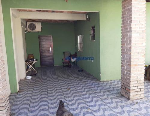 Casa À Venda, 120 M² Por R$ 280.000,00 - Residencial Moradias Tibagi - Londrina/pr - Ca1314