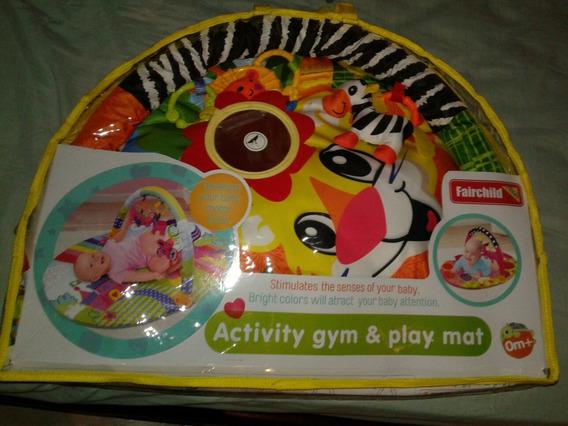 Gimnasio Para Bebe (gym & Play Mat), Nuevo Con Su Forro.