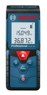 Medidor De Distancia Laser 40 Metros Bosch Glm 40