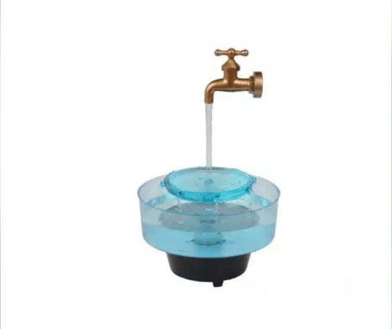 Aqua Fonte Torneira (decorativa E Bebedouro Para Gatos)-110v
