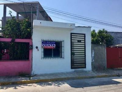 Casa Sola En Venta Cunduacan Centro