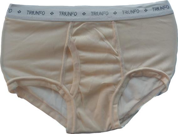 Trusa Brief Nylon Vintage Marca Triunfo