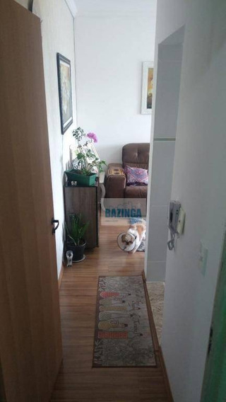 Apartamento Com 2 Dormitórios À Venda, 55 M² Por R$ 185.000 - Vila Nova Aparecida - Mogi Das Cruzes/sp - Ap0307