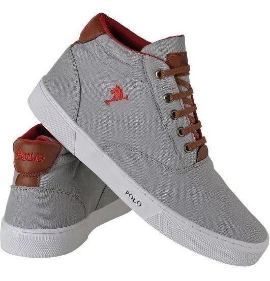 Sapatenis Polo Bra Masculino Sapato Casual Botinha Lancament