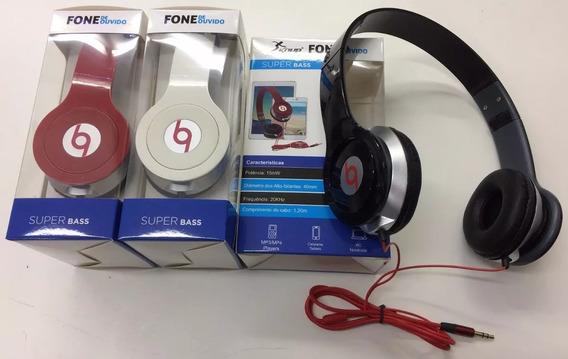 Fone De Ouvido Potente Headphone Super Bass Dobrável Knup