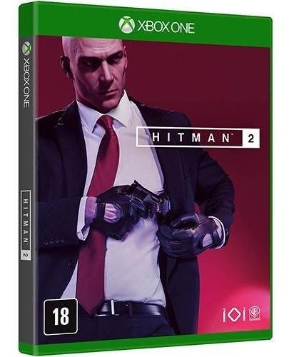 Xbox One Hitman 2 Mídia Física Novo Lacrado Em Português