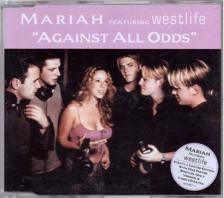 Mariah Carey Against All Odds Featuring Weslife Cd + Poster
