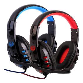 Headphone Gamer Bass Alpha 1804 Com Fio Corda Microfone 1804