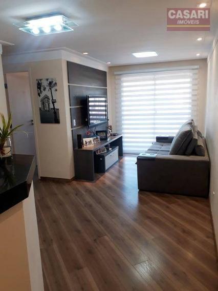 Apartamento Com 3 Dormitórios À Venda, 60 M² - Vila Scarpelli - Santo André/sp - Ap53921